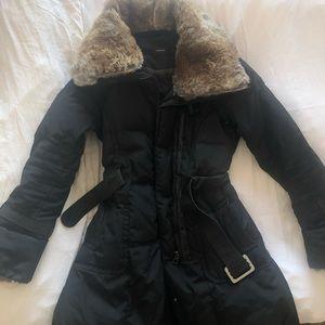 Rudsak Rabbit Fur Winter Coat